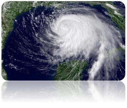 orkaner og storme